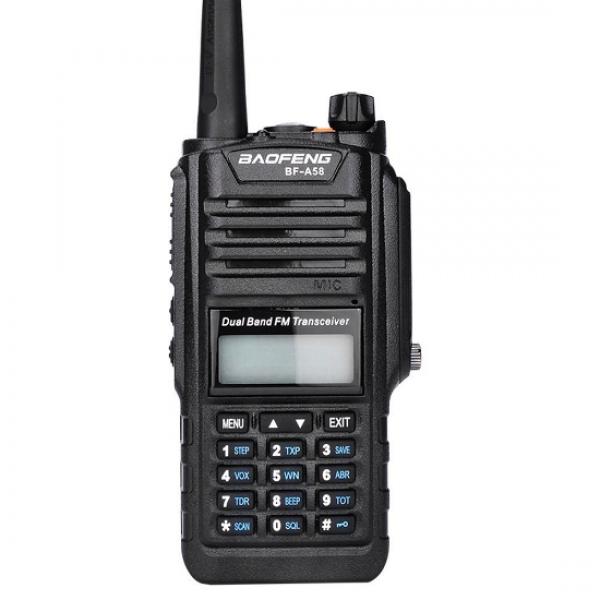 Портативная двухдиапазонная радиостанция Baofeng BF A-58