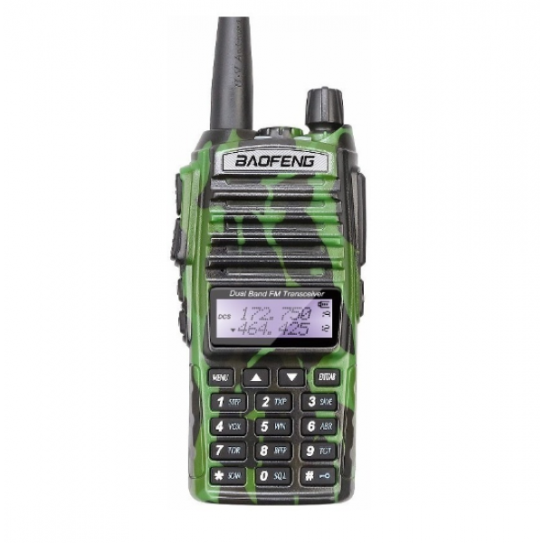 Портативная двухдиапазонная радиостанция Baofeng UV-82 Camo