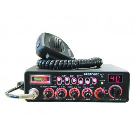 Автомобильная радиостанция President Jackson II ASC