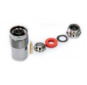 Разъем N-типа, вилка, для кабеля 5D (прижимной)