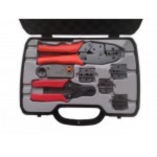 Комплект для обжима коаксиального кабеля 8D, 5D