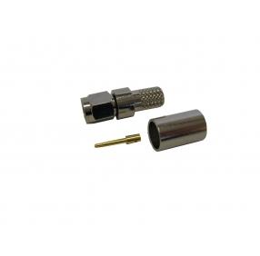 Разъем SMA, вилка, для кабеля 5D (обжимной)