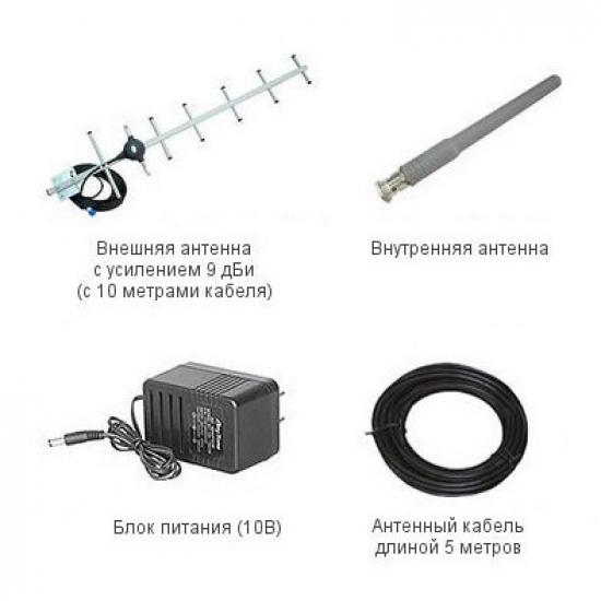 Готовый комплект GSM сигнала AnyTone AT-700