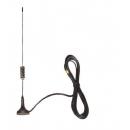 Штыревая всепогодная на магнитном основании антенна GSM-900/1800 сигнала AO-900/1800-M