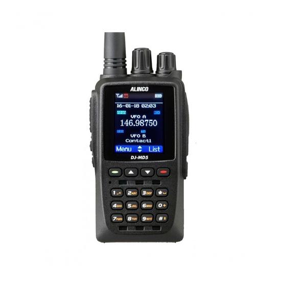 Портативная аналогово-цифровая радиостанция ALINCO DJ-MD5E