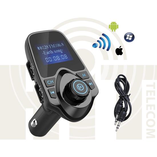 Автомобильное зарядное устройство T11 MP3 Player