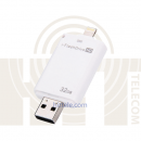 i-Flash Drive (W) флешка для iPhone/iPad/Android (32gb)