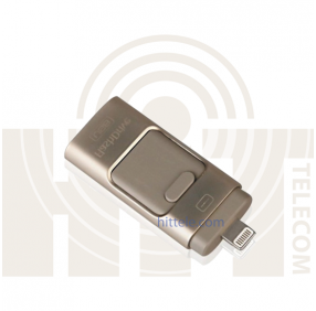 i-Flash Drive флешка для iPhone/iPad/Android (64gb) Gold