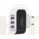 Адаптер зарядного устройства 3 порта USB 5V