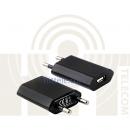 Адаптер зарядного устройства 1 порт USB 5V 1A