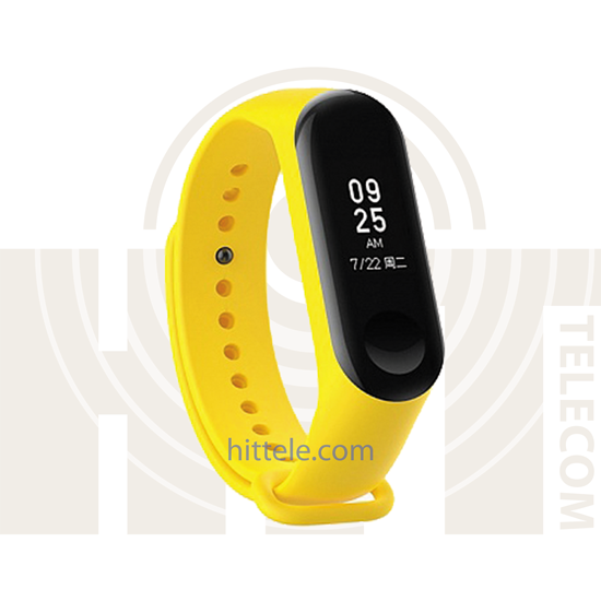 Ремешок для Xiaomi Mi Band 3 Yellow