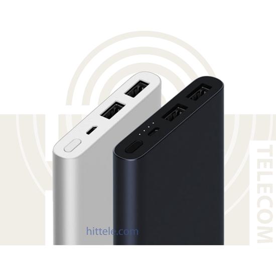 Внешний аккумулятор Xiaomi Power Bank 2 10000 mAh 2USB Silver