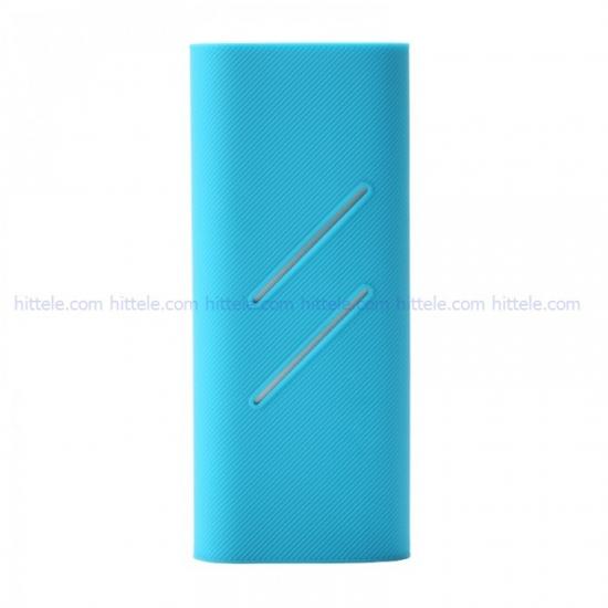 Чехол силиконовый для Xiaomi Power Bank 16000 mAh Blue