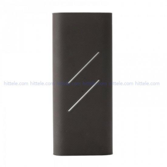 Чехол силиконовый для Xiaomi Power Bank 16000 mAh Black