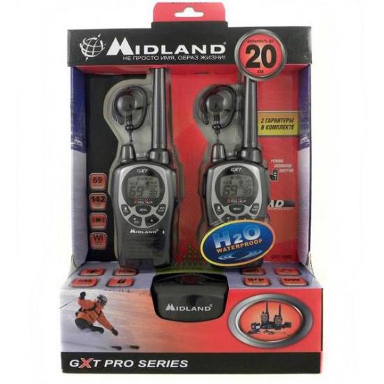 Портативная радиостанция Midland GXT 1000