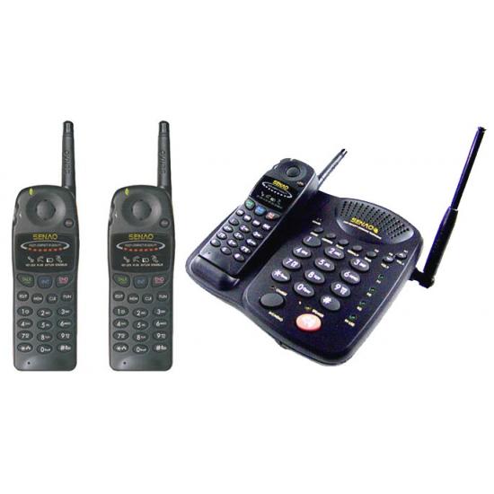 Радиотелефон Senao SN-358B с тремя трубками