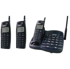 Радиотелефон Senao SN-358 PLUS с тремя трубками