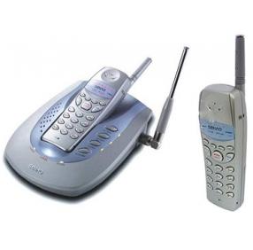 Радиотелефон Senao SN-258 PLUS NEW с двумя трубками