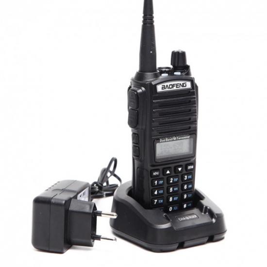 Портативная двухдиапазонная радиостанция Baofeng UV-82 (8 Вт)