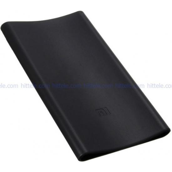 Чехол силиконовый для Xiaomi Power Bank 5000 mAh Black