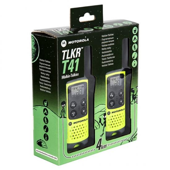 Портативная радиостанция Motorola TLKR T41 Green + подарок