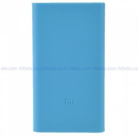 Чехол силиконовый для Xiaomi Power Bank 5000 mAh Blue
