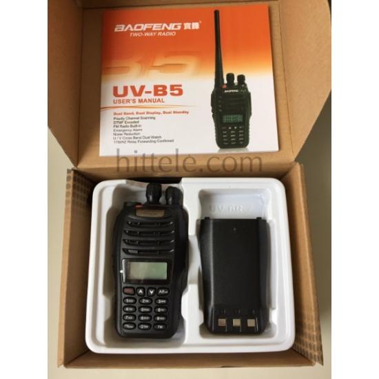 Портативная двухдиапазонная радиостанция Baofeng UV-B5