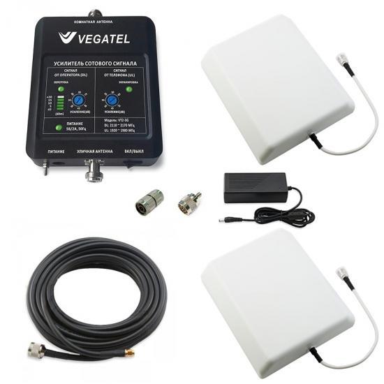 Готовый комплект 3G сигнала VEGATEL VT2-3G-kit (дом) (LED 2017 г.)