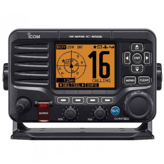 Морская портативная радиостанция Icom IC-M506