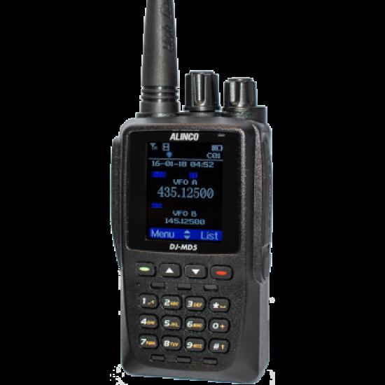 Портативная аналогово-цифровая радиостанция ALINCO DJ-MD5E-GP