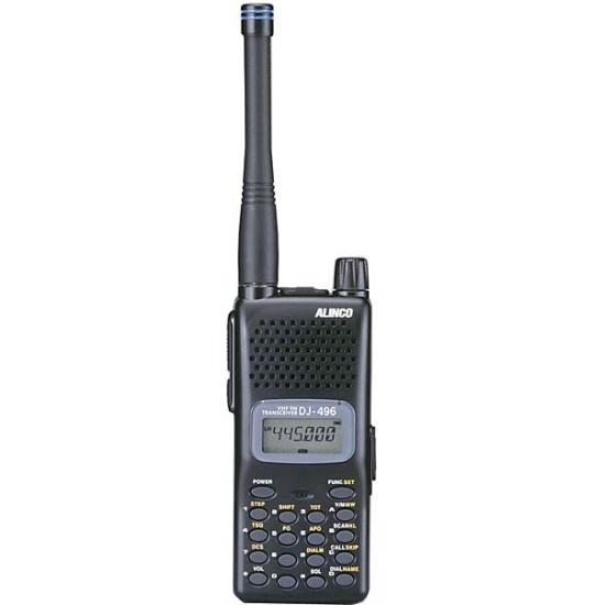 Портативная радиостанция Alinco DJ-496 (body)