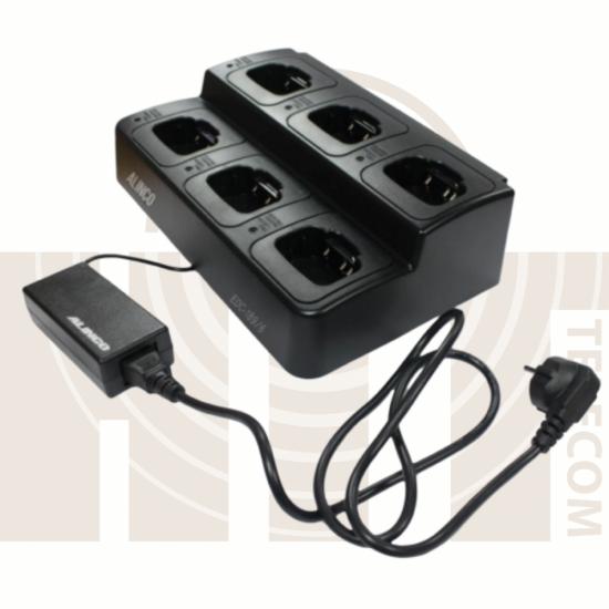 Быстрое 6-позиционное зарядное устройство ALINCO EDC-189-6