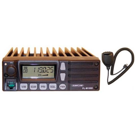 Авиационная стационарная/бортовая радиостанция Yaesu FL-M1000