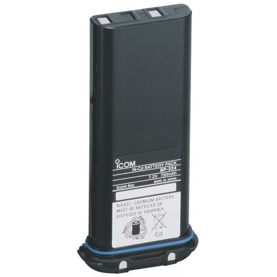 Ni-Cd Аккумулятор BP-224 (750мАч) для IC-M2A/M21