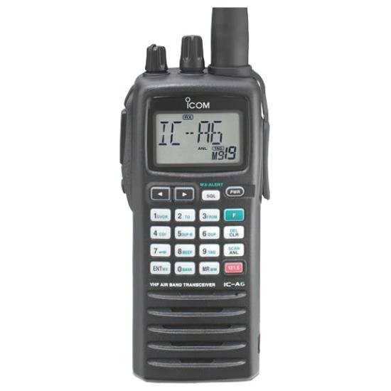 Авиационная портативная радиостанция Icom IC-A6