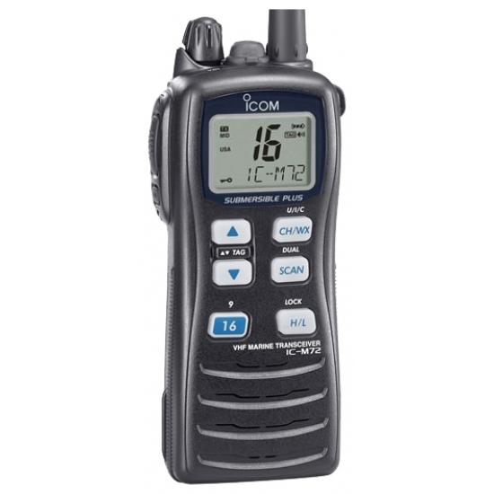 Морская портативная радиостанция Icom IC-M72