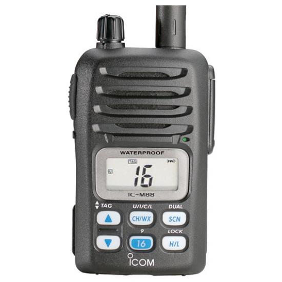 Морская портативная радиостанция Icom IC-M88