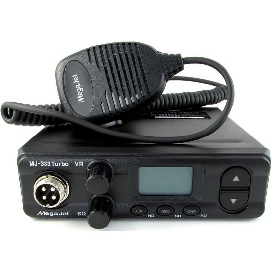 Автомобильная радиостанция MegaJet 333N Turbo