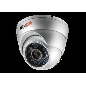 Камера видеонаблюдения AHD купольная NOVIcam AC12W уличная