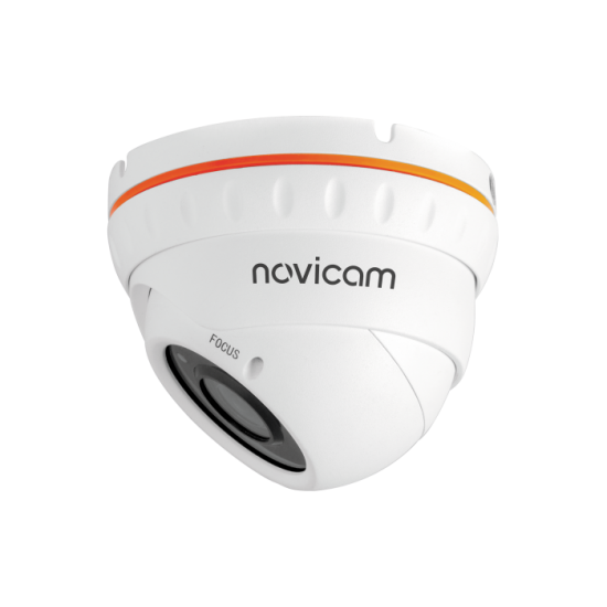 Камера видеонаблюдения IP купольная NOVIcam BASIC 37 уличная
