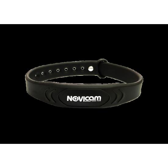 Идентификатор NOVIcam MB11 Black - браслет Mifare с застёжкой