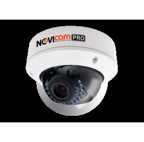 Камера видеонаблюдения IP вандалозащищенная NOVIcam NC48VP PRO уличная