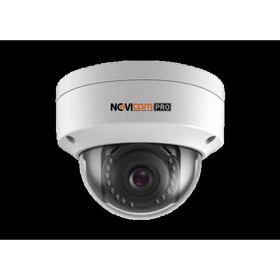 Камера видеонаблюдения IP купольная вандалозащищенная NOVIcam NC82VP PRO уличная