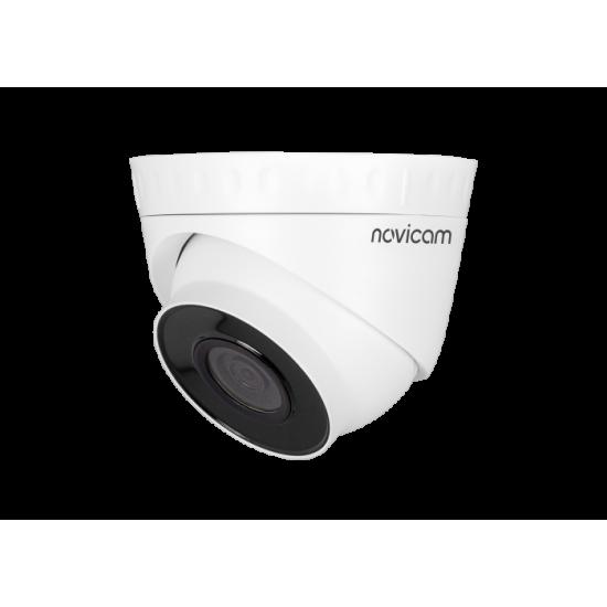 Камера видеонаблюдения IP купольная NOVIcam PRO 22 уличная
