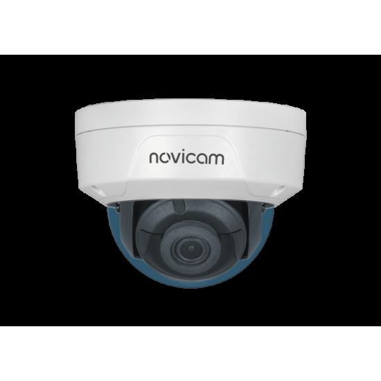 Камера видеонаблюдения IP купольная вандалозащищенная NOVIcam PRO 24 уличная