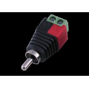 Коннектор-переходник NOVIcam PV-T2RCA RCA-папа