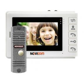 Комплект видеодомофона NOVIcam SMILE 4 KIT