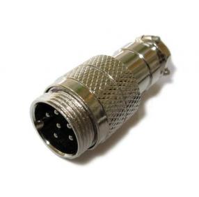Гарнитурный разъём для речевого информатор Optim XLR 6-pin