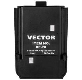 Аккумулятор Vector BP-70