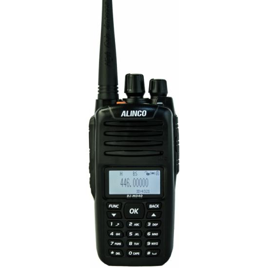 Цифровая портативная радиостанция Alinco DJ-MD40